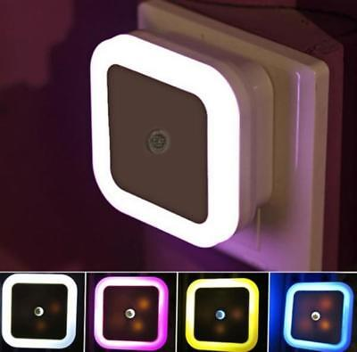 Automatic LED PLUG IN NIGHT LIGHT -LOW ENERGY -Baby Safety Night Light-4 Colour