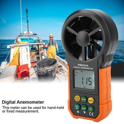 PEAKMETER PM6252A Digital Wind Speed Meter Air Volume Measuring Anemometer