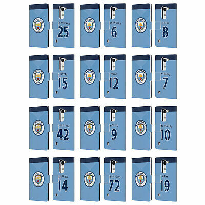 Manchester City Man City Fc Home Kit 2016/17 2 Leather Book Case For Lg Phones 2
