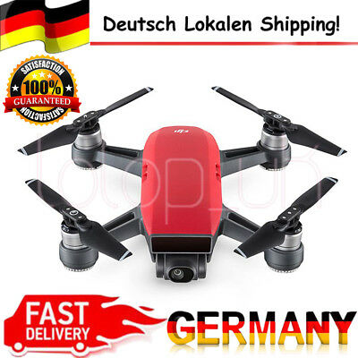 DJI Spark Alpine Fly More Combo Camera Quadcopter Drone 12MP 1080P Video Red DHL
