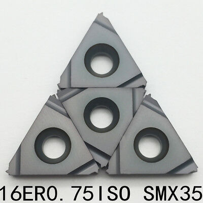 16ER 0.75ISO SMX35 Threading Blade CNC Carbide Insert For Stainless Steel 10P