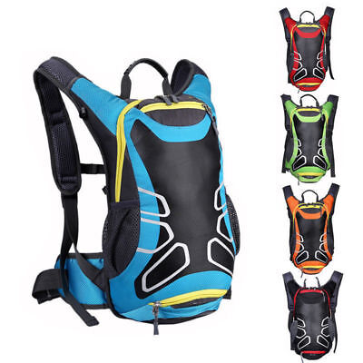15L Waterproof Nylon Breathable Motorcycle Backpack Riding Shoulder Bag NEW