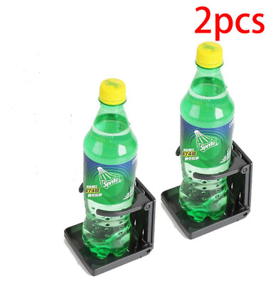 2X Folding Drink Bottle Holder Boat Marine Caravan Car Truck Mount Fish Box