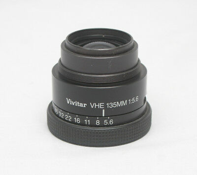 Used Vivitar VHE 135mm F5.6 Enlarging Lens
