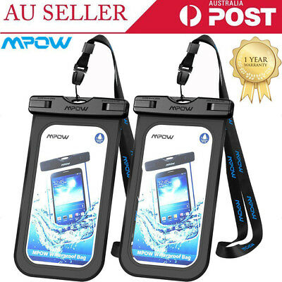 Mpow Floating Waterproof Phone Pouch Dry Bag Case Cover For Phone iPhone Samsung