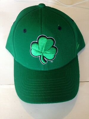 NOTRE DAME FIGHTING Irish Zephyr Fitted hat 7 3 8 Green -  14.99 ... d0a81624717