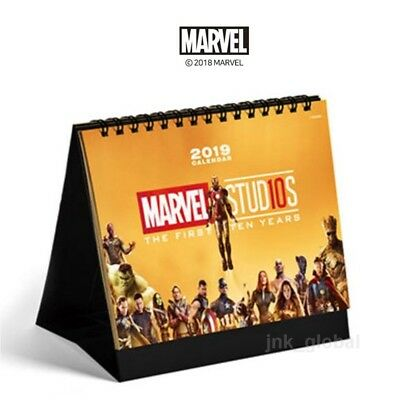 [Marvel Studios]10th Years Anniversary Gold Collection 2019 Calendar Edition NEW