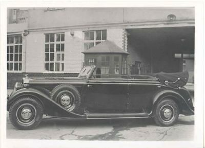 1936 ? Horch Factory Photo u6363-G5BOW2