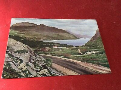 Loch Maree From The Gairloch - Poolewe Road , Sutherland Postcard
