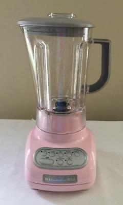 PINK 5 Speed KitchenAid  KSB560PK  Blender Excellent Condition RETRO LOOK