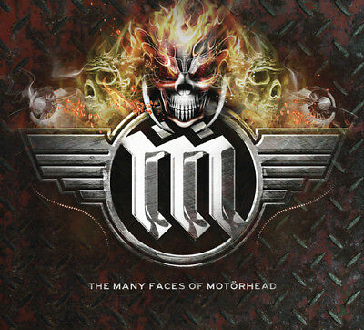 Various Artists : The Many Faces of Motörhead CD (2018) ***NEW***