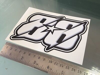 Miguel Oliveira Number 88 Sticker Decal NEW!! (150mm x 100mm)