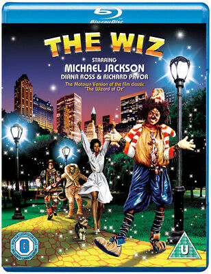 The Wiz Blu-Ray (2015) Michael Jackson ***NEW***