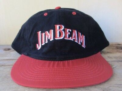 94cbae2f1b8 VINTAGE 90 S JIM Beam Two Tone Snapback Hat NEW IN BOX