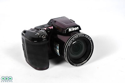 Nikon Coolpix L840 Plum Digital Camera (Camera Only) {16 M/P} (Uses 4/AA)