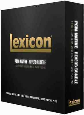 Lexicon Pcm Native Reverb Bundle Rtas Au Vst Aax 24 Hr E-Delivery Make Offer