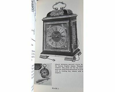 Dictionary of Clocks and Watches Eric Bruton 1963 HB Book Antiques