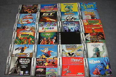 Nintendo Game Boy Advance: Lot of 25 [Instruction Books Manuals ONLY]