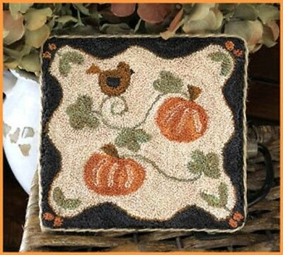 Country Pumpkins Punchneedle Transfer Pattern-Little House Needleworks