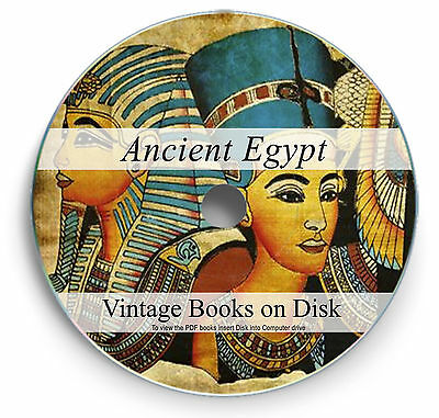 354 Ancient Egypt Books on DVD Egyptian History Pyramids Giza Spinx Art Gods 292