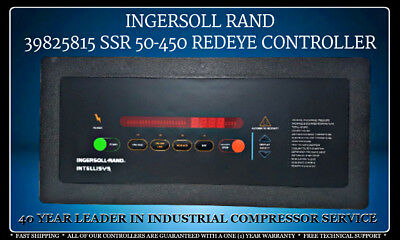 39825815 Ingersoll Rand Ssr 50-450 Red Eye Controller With One (1) Year Warranty