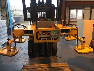 Forklift Mounted Vacuum Lifting Attachment 500KG