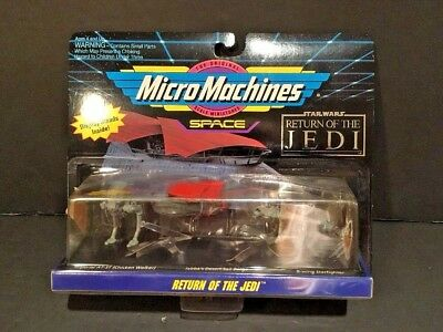 Micro Machines Star Wars Space Collection #3 Return of The Jedi -1993- MIP /NOS