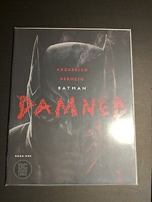 Batman Damned #1 A&B  - 1st Printing Uncensored DC Black Label NM+ Minimum 9.8