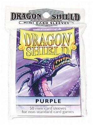 Dragon Shield Purple Yugioh Sized-Mini 50 ct Sleeves (Arcane Tinmen) New