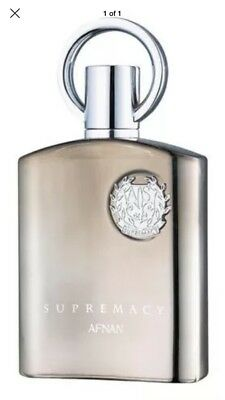 AFNAN SUPREMACY SILVER Perfume 100ML authentic fast UK stock/delivery