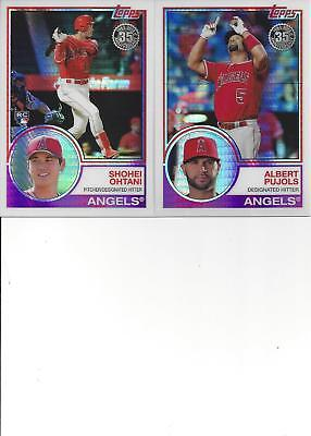2018 TOPPS Update Silver Pack Chrome Shohei Ohtani RC Los Angeles Angels #145