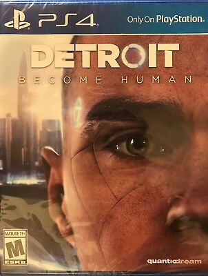 Detroit Become Human PS4 Sony PlayStation 4 NEW FACTORY SEALED