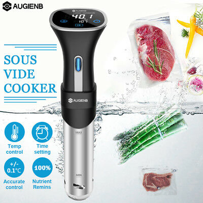 AUGIENB LCD Sous Vide Cooker Precision Thermal Immersion Circulator Timer Gift