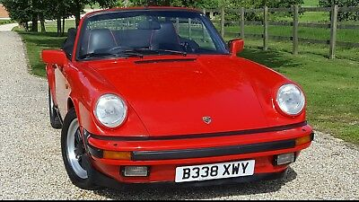 1985  911  Convertible  Stunning  Huge  History  File  Low  Miles