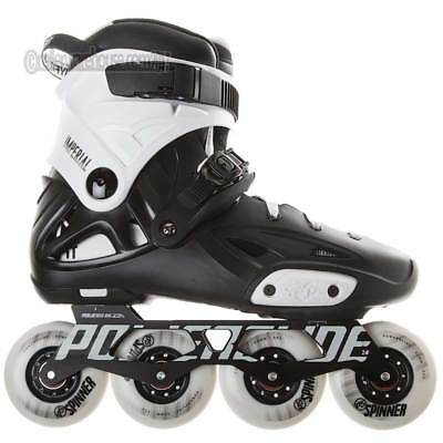 Powerslide Imperial One 80mm Inline Dual Fit Kids Skates US Size 11.0 - 12.0 NEW