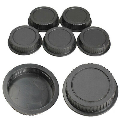 5Pcs Camera Rear Lens Cap Dust Body Cover For Canon EF ES-S EOS Series Lens Kit