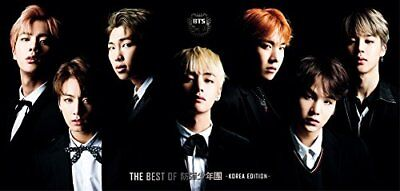 BTS THE BEST OF BTS Deluxe Limited Edition KEA EDITION CD+DVD+Photo set Japan