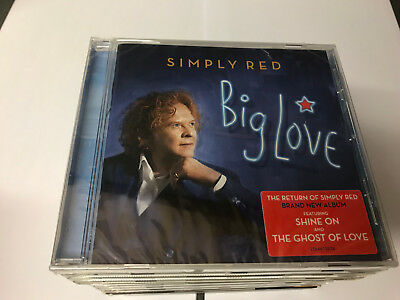 Simply Red - Big Love - CD Album NEW SEALED 9397601003037