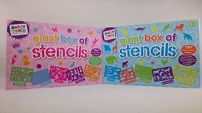 Hobby Worls Giant Box Of Stencils Shapes