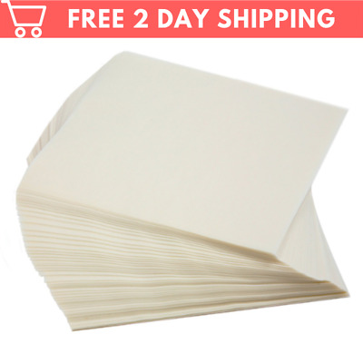 Moisture-Proof Nonstick Handy Paper Sheets Patty Hamburger Squares Wax for Food