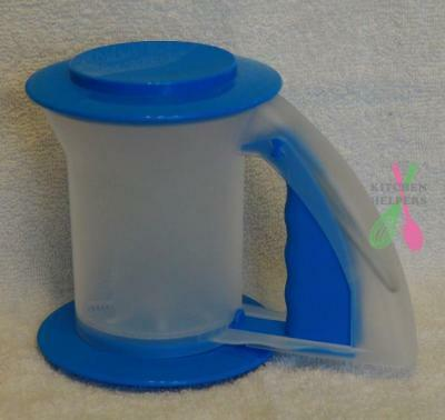 Tupperware Bake 2 Bascics Sift N Store Sifter Blue- NEW