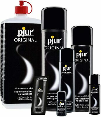 Pjur Original Lube Sex Toy Personal Lubricant Concentrate German Made All Sizes