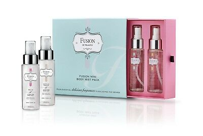 Pelactiv Fusion Mini Body Mist Gift Pack - Vanilla, Coconut & Lime, Bella, Aqua
