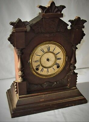 Nice Ansonia Striking Mantle Clock From The U.S