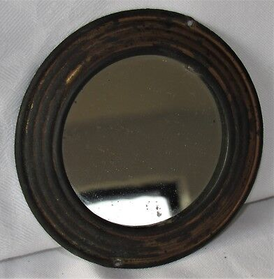 Delightful And Original 19th Century Butlers Mirror From A Barometer