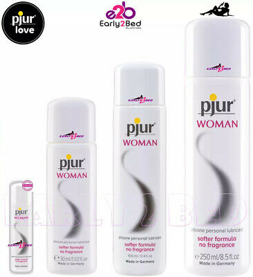 Pjur Woman Women Lube Sex Toy Smooth Sensitive Lubricant German Made All Sizes