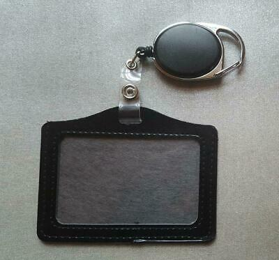Id Card Holder Badge Reel Oyster Security Yo Yo Retractable Photo Identity Pass
