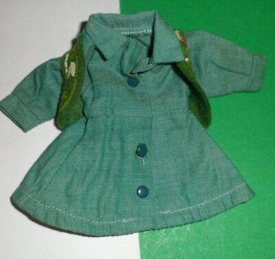 """1950s Vintage Doll clothes GIRL SCOUT Virga Muffie Wendy Kin 8"""" Vogue Ginny"""