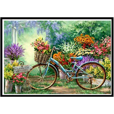 DIY Art Painting Handmade Full Diamond Painting Cross Stitch Wall Decor 9791 Q
