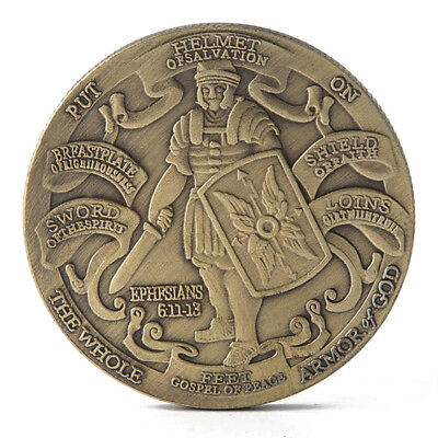 HelmetOfSalvation Put On The Whole Armor Of God Commemorative Coin Collection LX